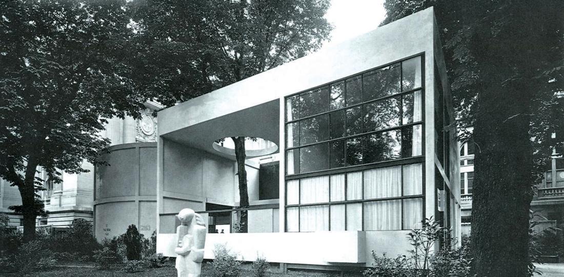 Villa de L'Esprit Nouveau, Le Corbusier, 1924