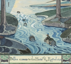 Aubusson tisse Tolkien