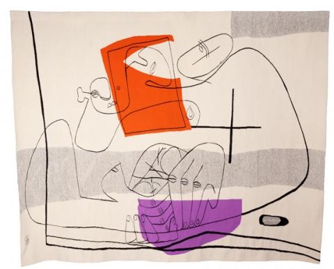 Le corbusier et le muralnomad cit internationale de la - Comment enlever de la tapisserie facilement ...