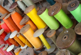 Wool bobbins