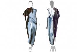 Libramen Forma, Kestner & Vilsbol, maquette de robe en tapisserie