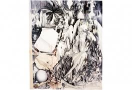 Melancholia, d'après Marc Bauer, deuxième prix 2011, tissage atelier Patrick Guillot, 2013