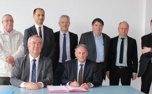 Une convention de partenariat signée entre la Cité de tapisserie et la CCI du Limousin