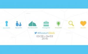 MuseumWeek 2016 : découvrez les activités de la Cité sur Twitter
