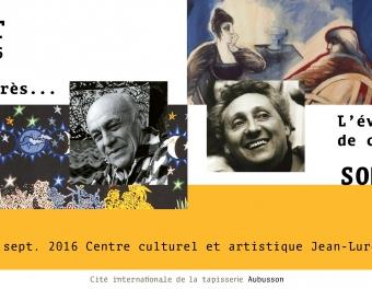 Lurçat et Somville au Centre culturel Jean Lurçat