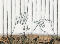 Collectionneurs, et si vous investissiez dans le patrimoine intemporel de l'art tissé ? La Cité de la tapisserie accompagne les projets d'édition. Réal. Citron Bien, 2014, 2 min 23.