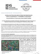 Une Indication Géographique pour les tapis et les tapisseries d'Aubusson (communiqué)