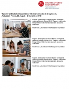 Summer School Michelangelo Foundation - Images sheet ENGL